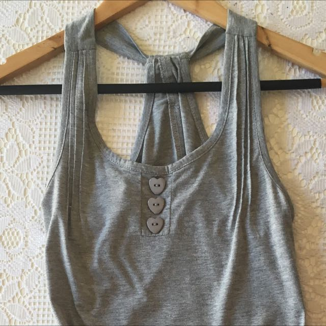 Cute Grey Jumpsuit