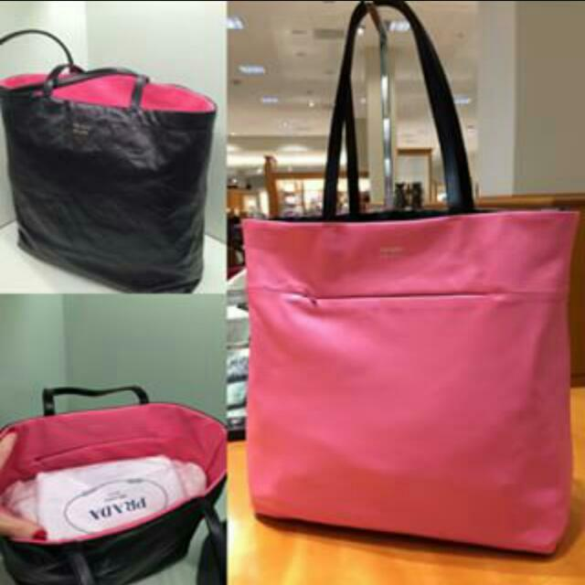 a430453fdfb2 Fast Deal-PRADA REVERSIBLE TOTE