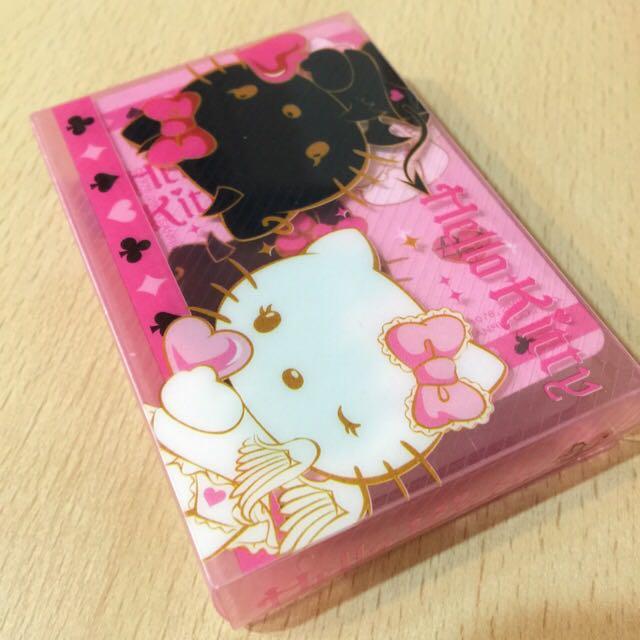 特價🔆Hall Kitty 天使&惡魔 特別版 撲克牌