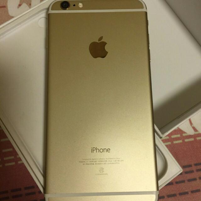 售I6 Plus 64G 金色