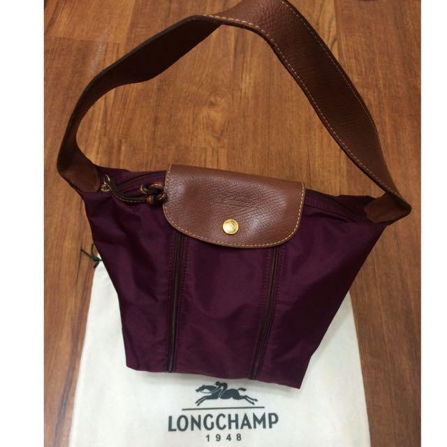 (待匯,保留中)特價含運—正品Longchamp 手提/肩背 雙色包
