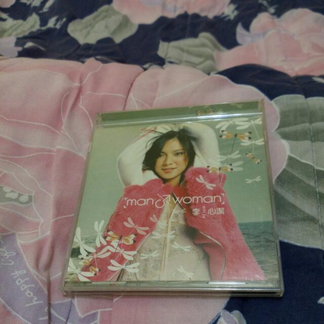 正版二手,李心潔man&woman,CD唱片