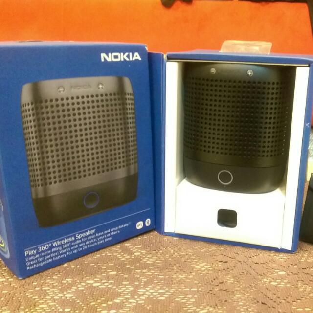 NOKIA 絕版 360 立體環繞無線/有線藍牙重低音喇叭