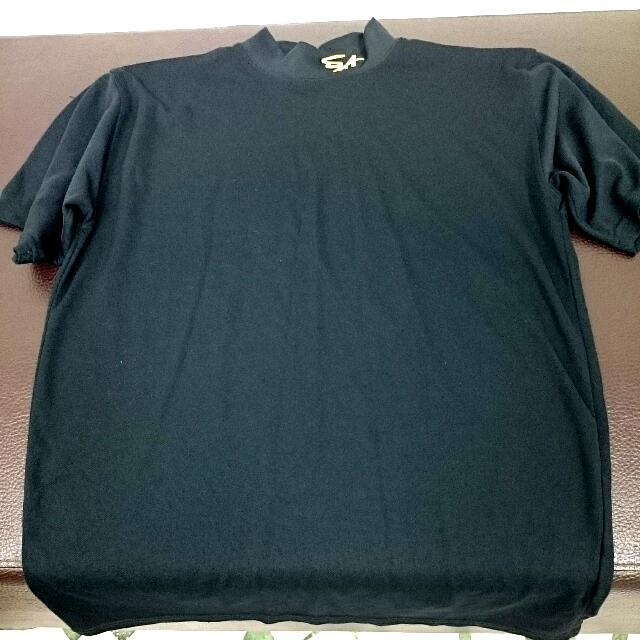 SA黑色高領排汗練習衣(含運)