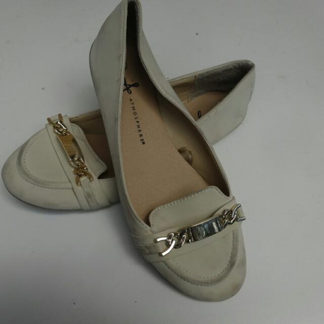 Sz 6 Ballet Flat - Biege