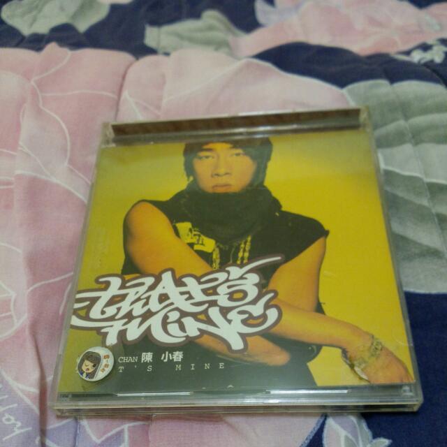 正版二手,陳小春That's mine,CD唱片