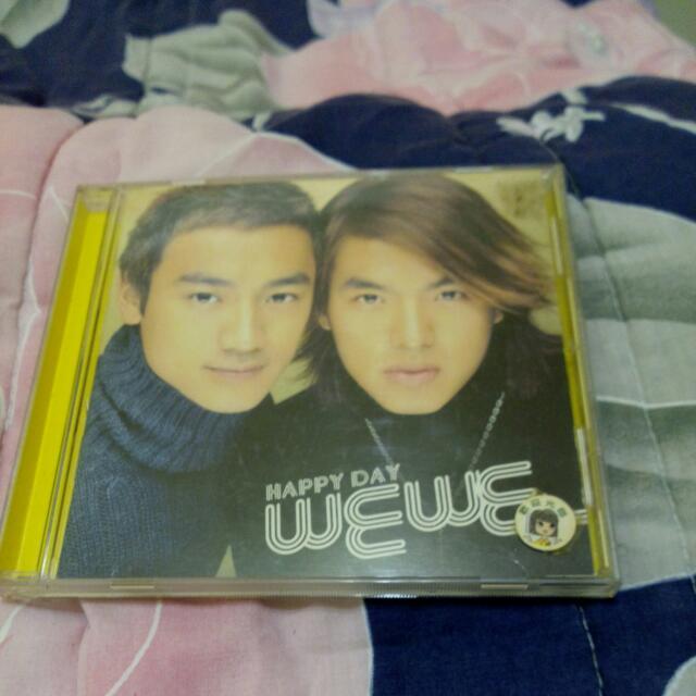 正版二手,wewe李威&林佑威 Happy Day,CD唱片