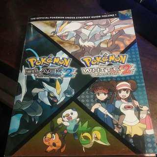 Pokemon Black/ White Version 2 Strategy Guide