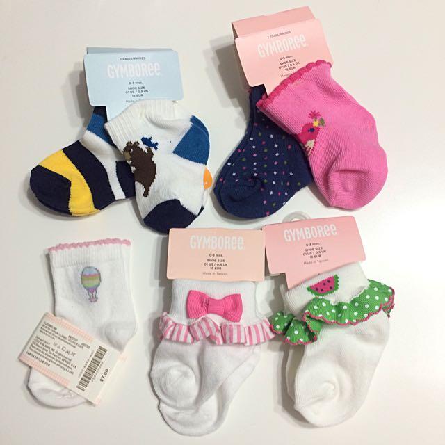 全新寶寶嬰兒襪