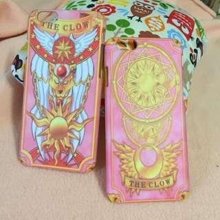 ❤️庫洛魔法史庫洛牌手機殼(iPhone 5,iPhone 6,iPhone 6+)