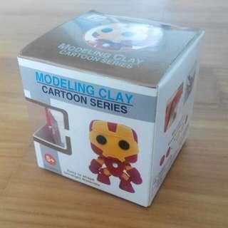 Modeling Clay - Iron Man
