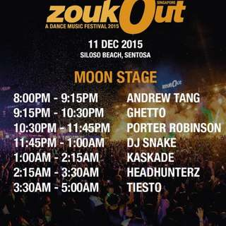 SELLING DAY 1 ZOUKOUT