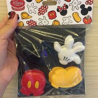 迪士尼造型夾(4件ㄧ組)