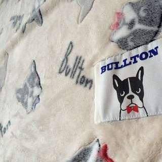 鬥牛犬 毛毯