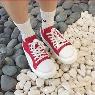 厚底大頭鞋