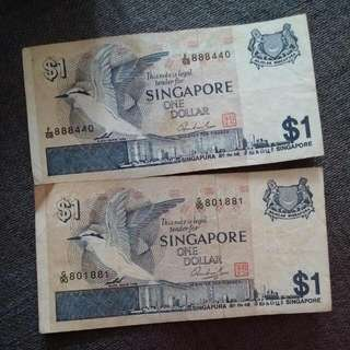 Old Sg $1 Note