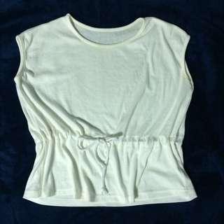 含運/白色短版短袖t