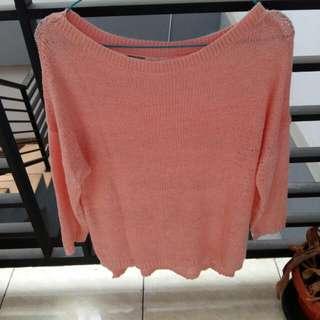 Mississipi Sweater Rajut Sweet Pink