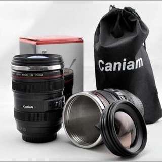 【交換禮物】超逼真的單眼相機鏡頭咖啡杯