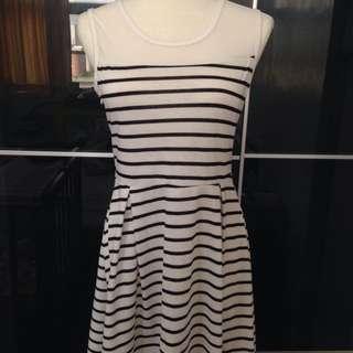 韓風 透視洋裝