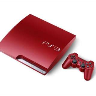 Ps3 Slim Red