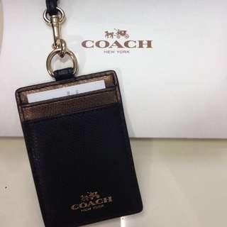 BNIB Coach Lanyard (Black&Brown)