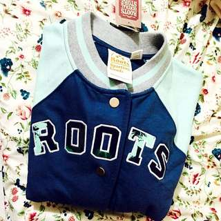 ROOTS運動棒球外套