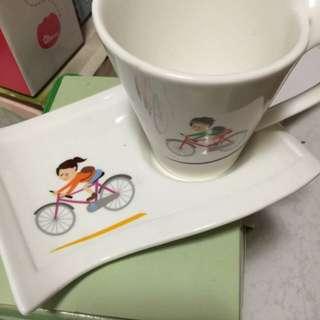鐡馬咖啡杯盤組