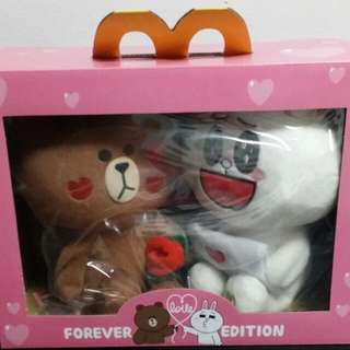 Cony & Brown Limited Edition Plush Toy From Mcdonald