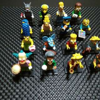 LEGO -  Simpsons Series 1 (RESERVED).