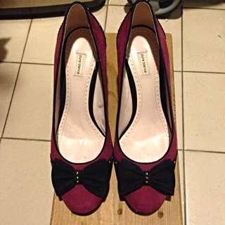 Pura Bianca 麂皮美鞋 真皮 37.5號