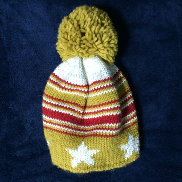 含運/星星條紋毛帽