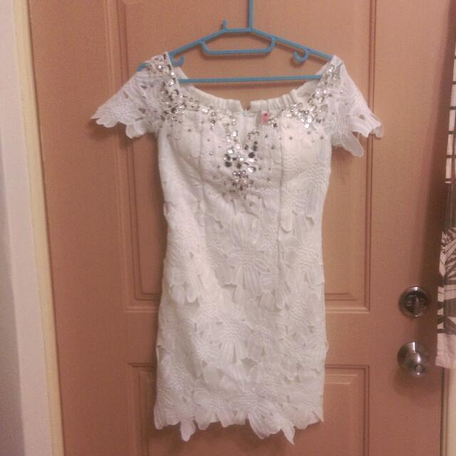 展售 正韓,超精緻寶石洋裝禮服