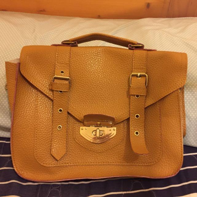褐色手提包👜
