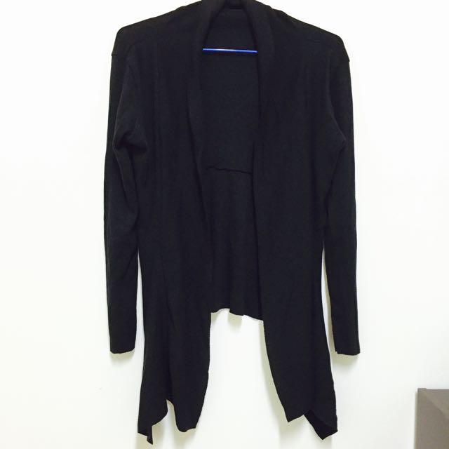開襟針織外套