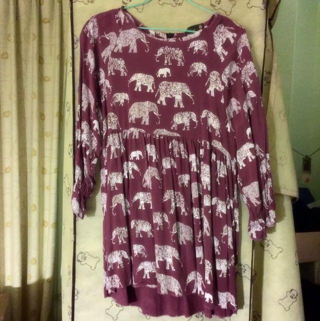 泰國大象娃娃棉質上衣