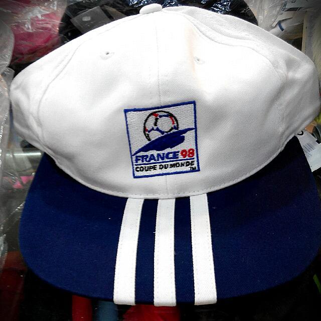 愛迪達Adidas(正品) 白藍 運動帽 帽子