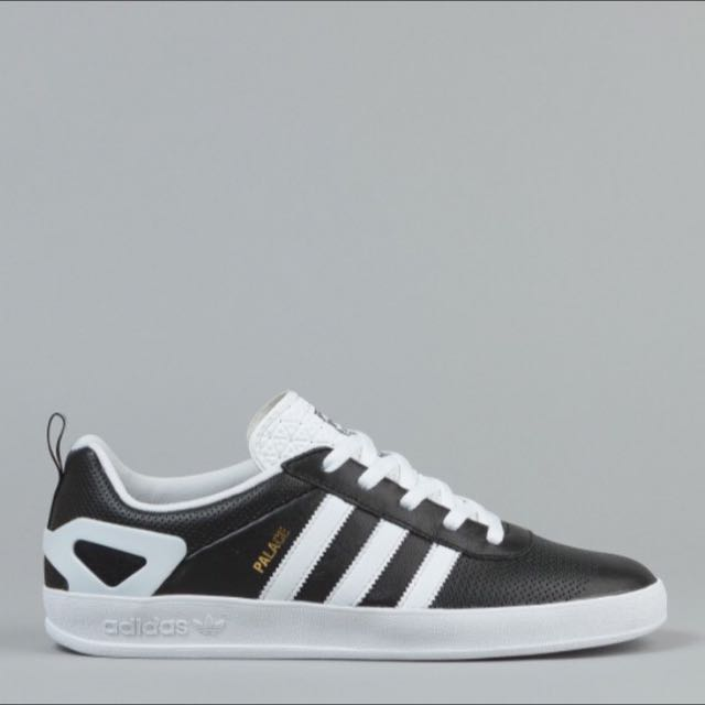 05f24fe2d243 Adidas x Palace Pro Shoe - Black White Gold