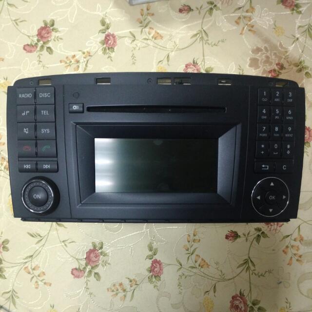 Benz R350.原廠 汽車音響