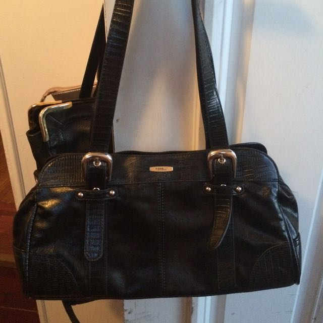 black laddies Fiorelli Handbag