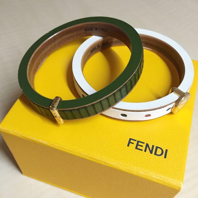 ((闆娘私物))FENDI雙圈手環❤️