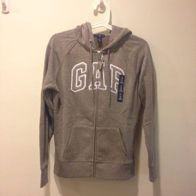 Gap 連帽外套(咖啡色