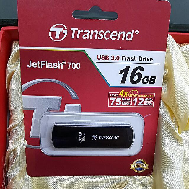 創見JetFlash 700 USB 3.0 16G 高速隨身碟(不含運)