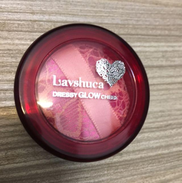 Lavshuca 橘色腮紅 OR-1 色號 (二手)