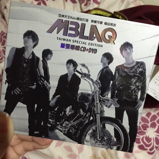MBLAQ 首張專輯