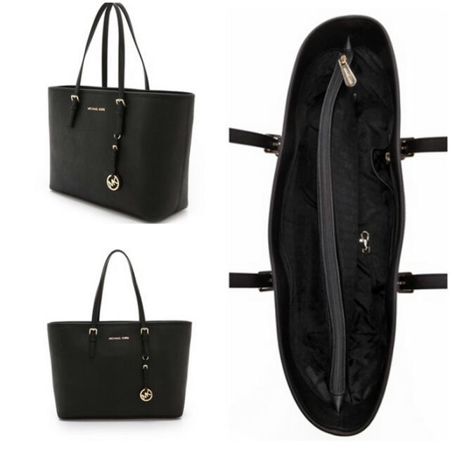 a59378289a37 Michael Kors Jet Set Travel Medium Tote, Women's Fashion on Carousell