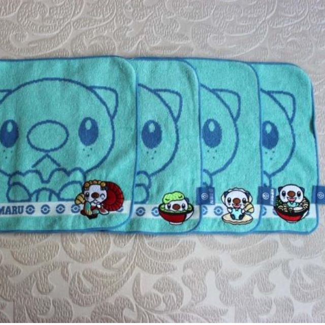 Mijumaru 水水獺  日本地區  限定  手帕