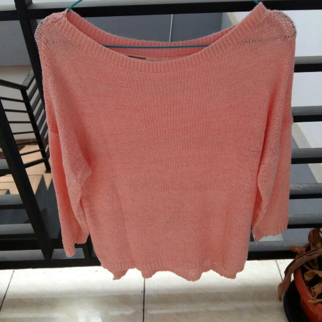 Mississipi Sweater Rajut Sweet Pink