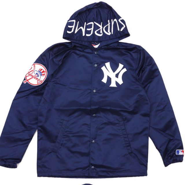 newest collection bc650 9543f Supreme X New York Yankees Hoodie