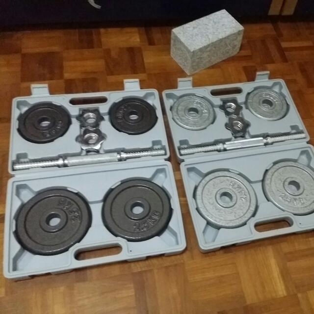 vgo Dum'Bell 2-10 Kg W/ Box